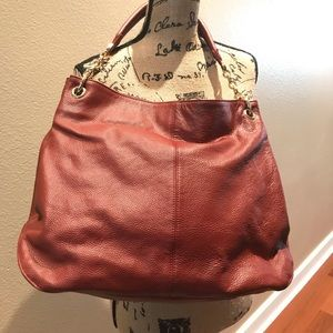 Coure & Pelle Italian leather hobo